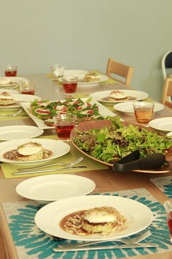 a-ta-sante糖質制限パン料理教室。12月糖質制限家庭料理3日目。『グルテンフリーのXmasパーティー料理』