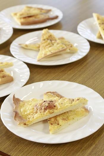 a-ta-sante糖質制限パン料理教室。会館でのレッスン『宝石箱&クリスピーピザ』