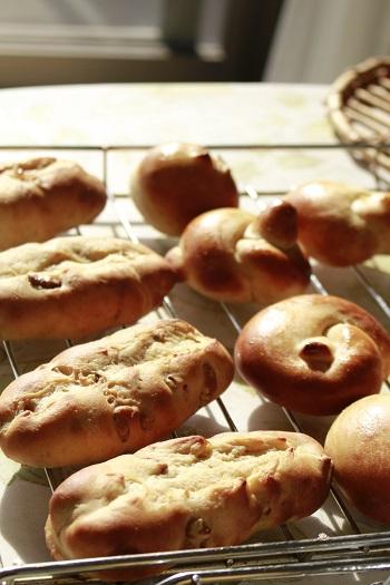 a-ta-sante糖質制限パン料理教室。京都江部粉糖質制限パン体験会『プチパン&クルミのバタートップブレッド&トルティーヤ』