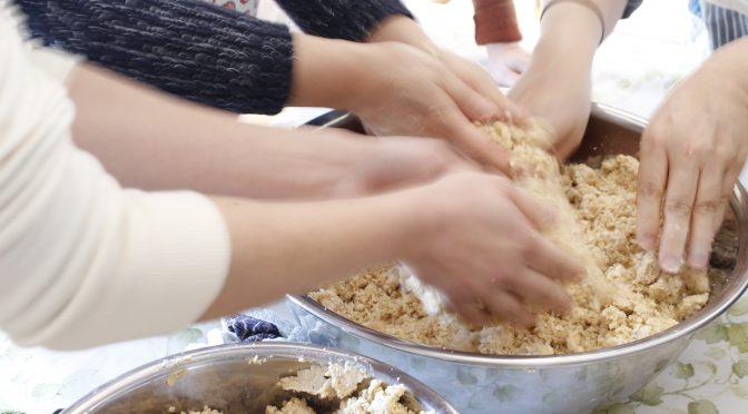 手作り味噌レッスン1日目。