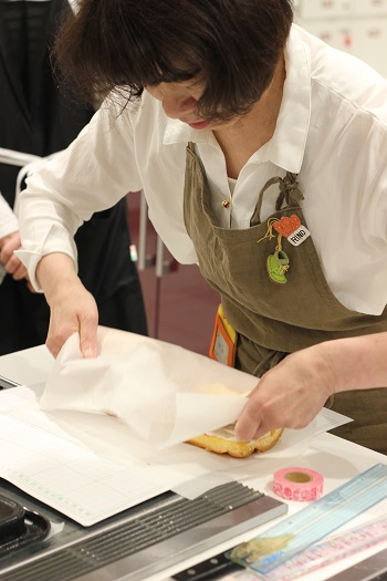 a-ta-sante糖質制限パン料理教室。阿倍野区西田辺。あべのハルカスレッスン、作って持って帰る『グルテンフリーRino~ル』