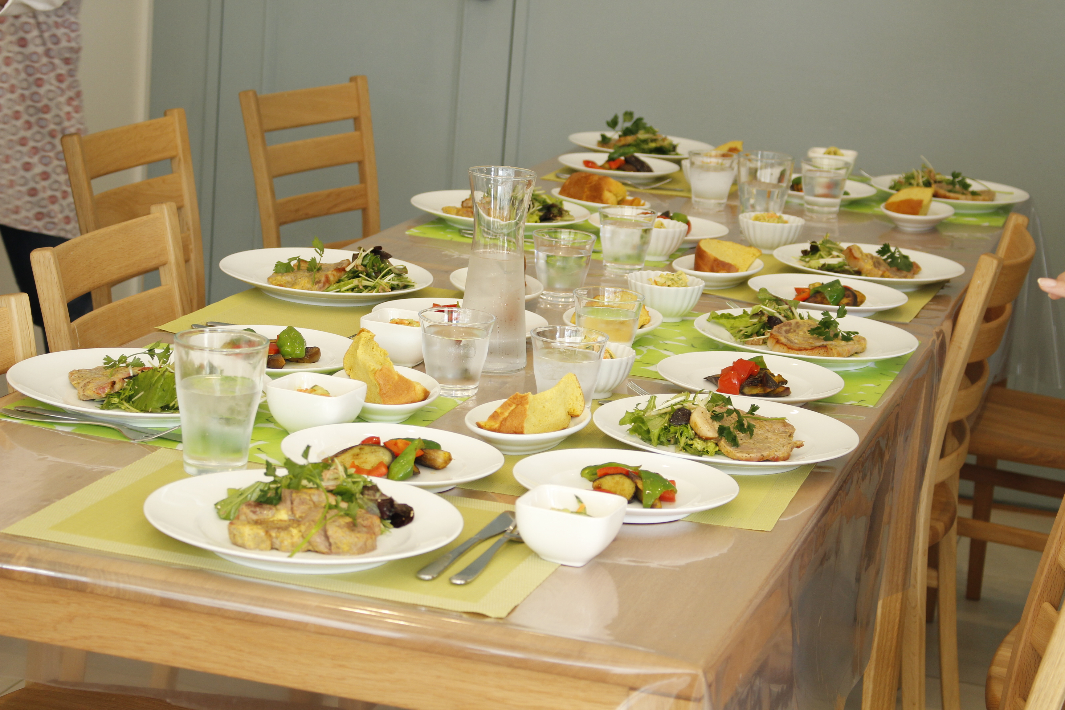 -ta-sante糖質制限パン料理教室。4月度『糖質制限家庭料理教室』3日目阿倍野区西田辺。