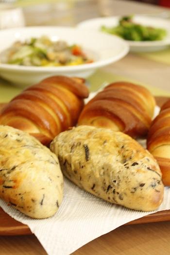 a-ta-sante糖質制限パン料理教室。京都江部粉ベーシックコース4回目『クリームパン&ひじきブレッド』阿倍野区西田辺。