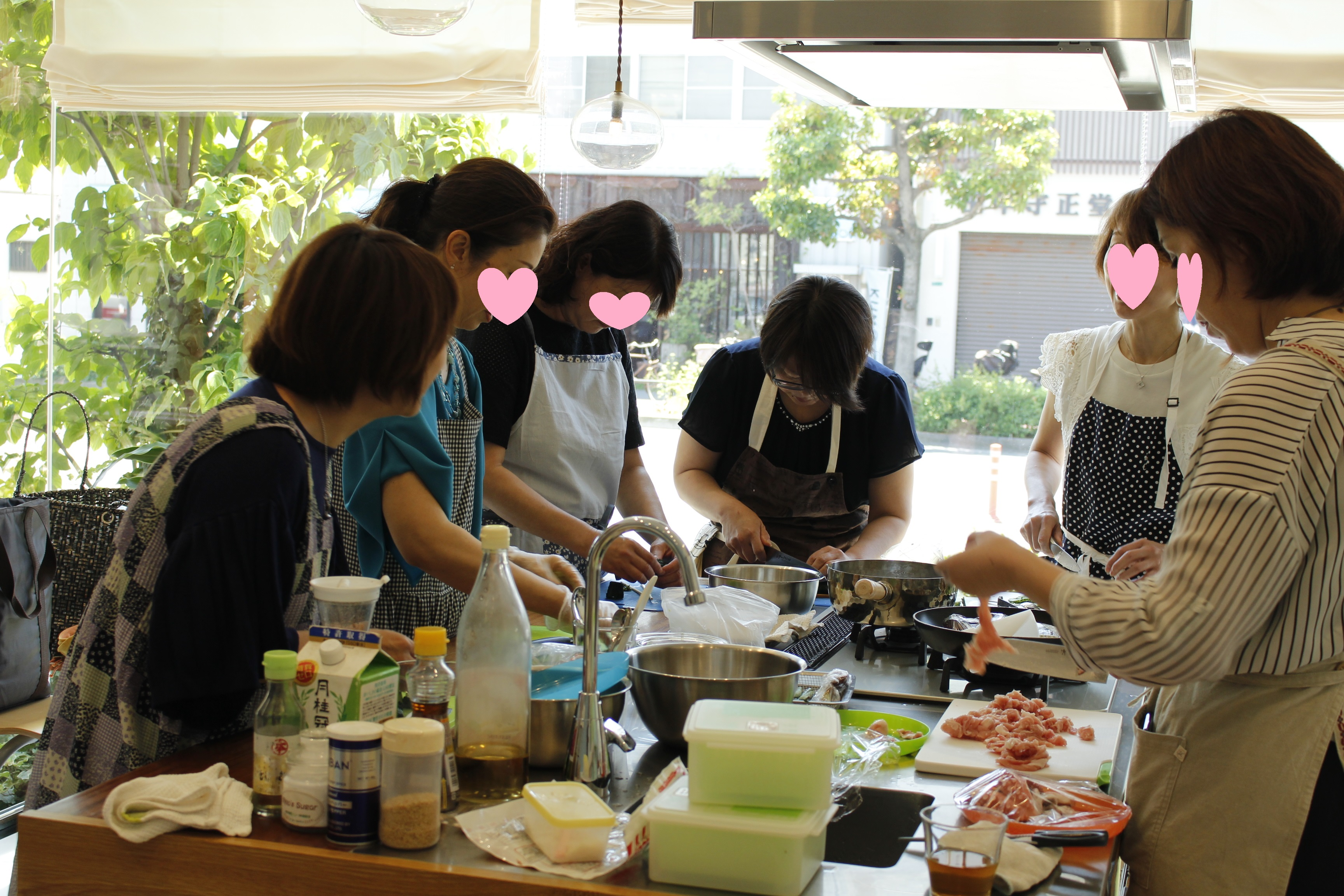 a-ta-sante糖質制限パン料理教室。6月度『糖質制限家庭料理教室』4日間、大盛況で終了。阿倍野区西田辺。