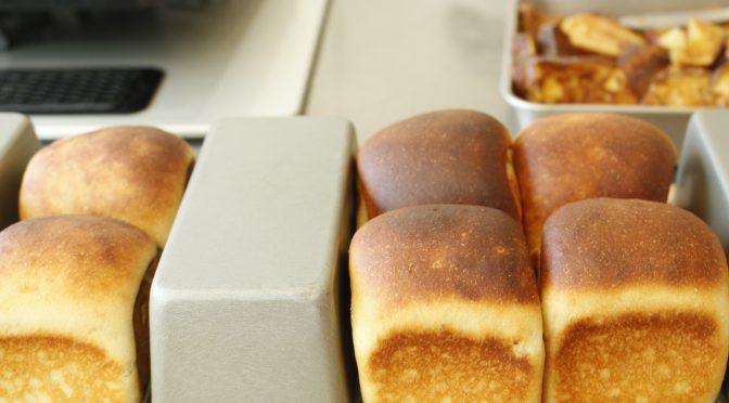 糖質制限パンベーシックコース最終回『ごまパン&山食&フレンチトースト』