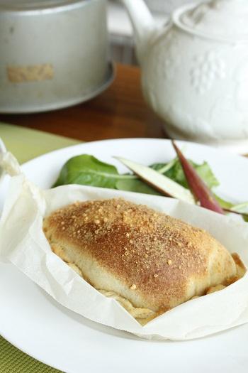 a-ta-sante糖質制限パン料理教室。京都江部粉を使った低糖質教室です。『糖質オフ・抹茶のシフォンケーキ&カルツオーネ』ツクレポ!阿倍野区西田辺。糖質オフ食育アドバイザー利野郁枝。