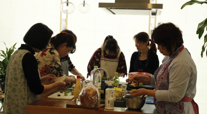 a-ta-sante糖質制限パン料理教室。10月度『糖質制限家庭料理教室』最終日、大盛況で終了。阿倍野区西田辺。a-ta-sant'e.