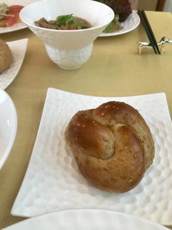 a-ta-sante糖質制限パン料理教室。阿倍野区。桃ヶ池町。a-ta-sant'e.京都江部粉糖質オフパン。ベーシックコース最終回。利野郁枝。